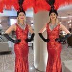 Vintage Vegas Show Girls Red 02 edit