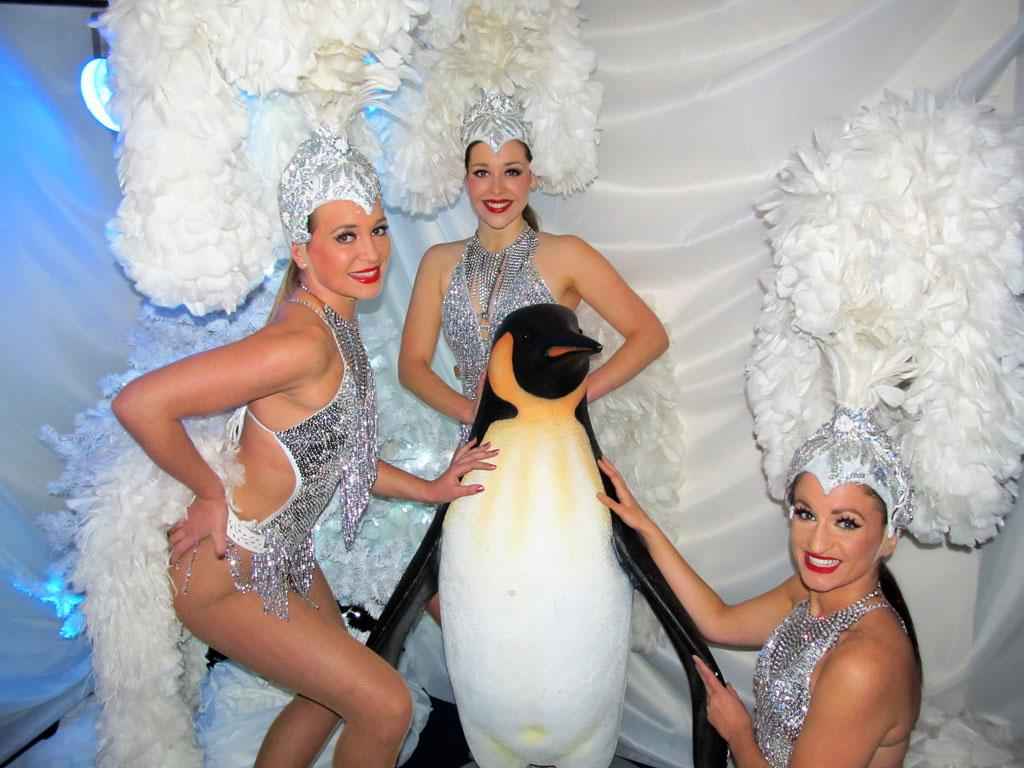 a38a0a09dd77 Winter Wonderland Theme - Vegas Show Girls   Show Girls for Hire UK