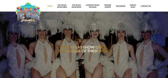 The Vegas Show Girls New Website 2017 events blog