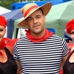 Parisian themed dancers