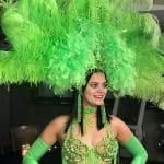 Rio Carnival mardi gras green web