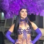 Rio Carnival mardi gras purple web